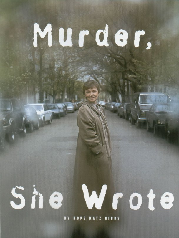 Cover page of Murder, She Wrote, from Crystal City, Etc. magazine