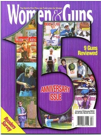 Cover of Women and Guns magazine Jan-Feb 2004